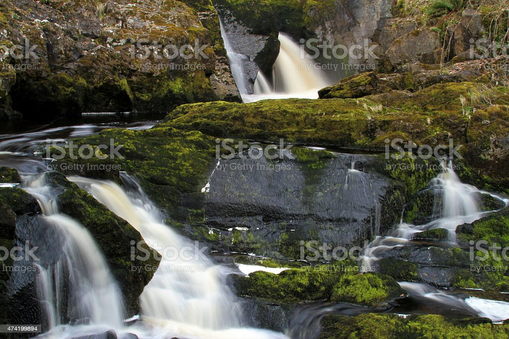 Beesley Falls royalty-free stock photo
