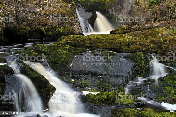 Beesley Falls Stock Photo - Download Image Now