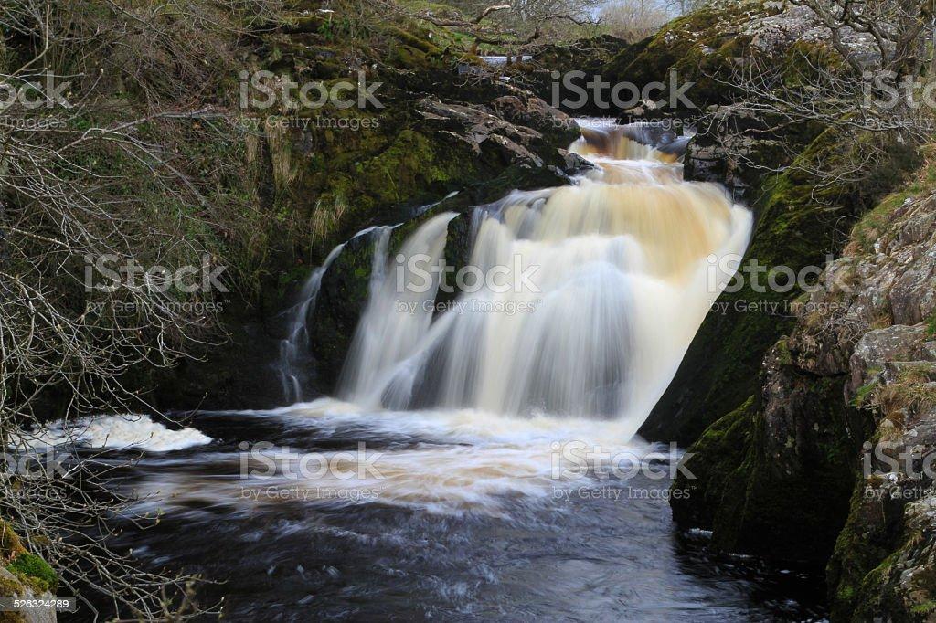 Beesley Falls royalty-free stock photo