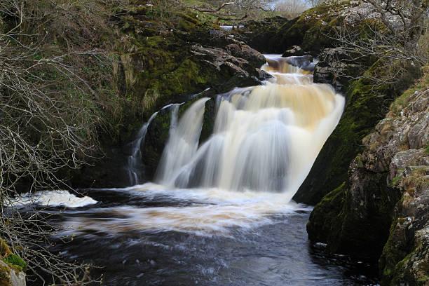 Beesley Falls stock photo