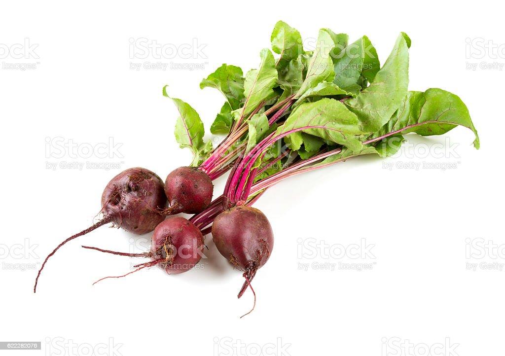 beet isolated stock photo