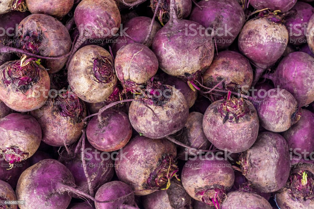 Beet root background stock photo