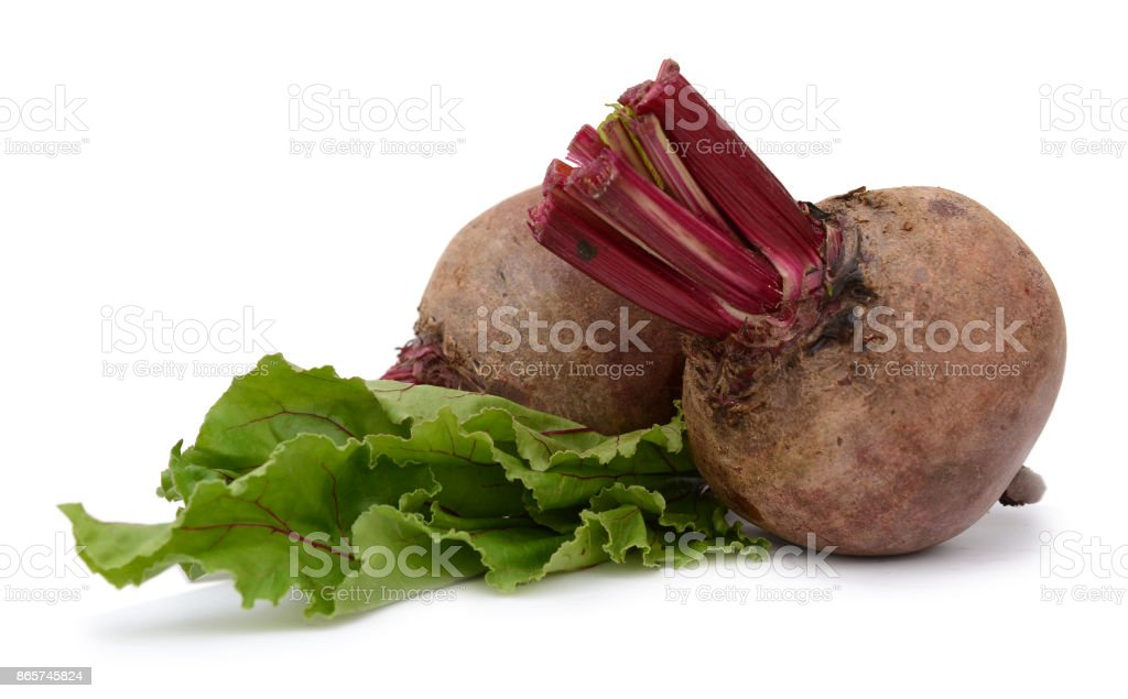 beet roots on white stock photo