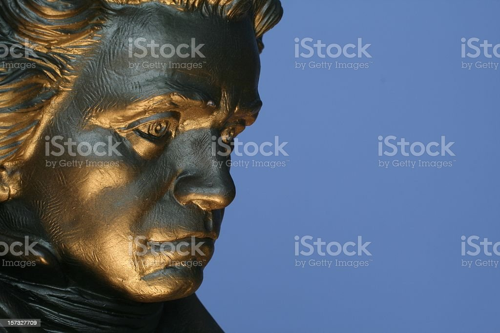 Beethovan  Statue 2 stock photo