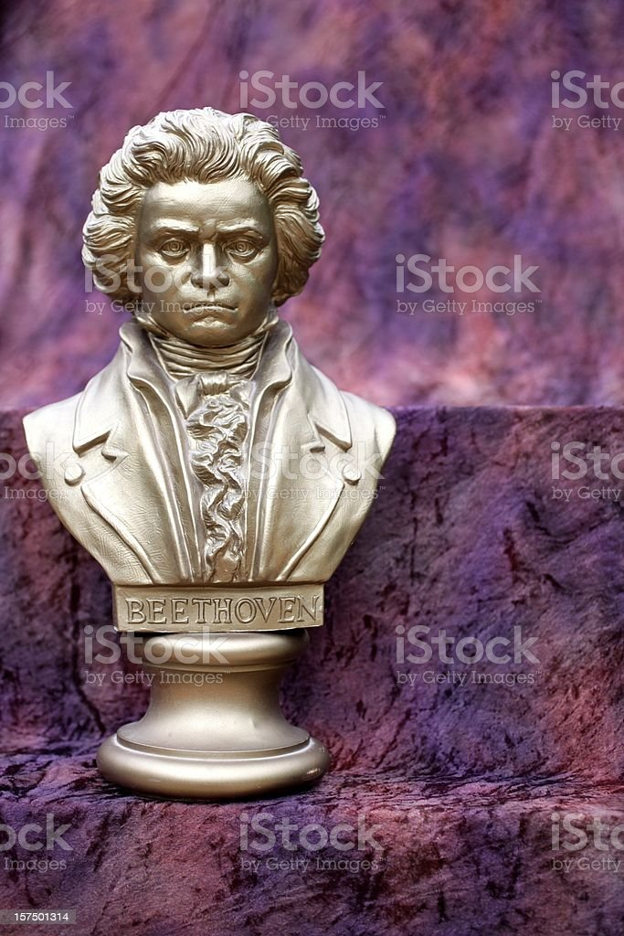 Beethoven Bust - Royalty-free 18th Century Style Stock Photo