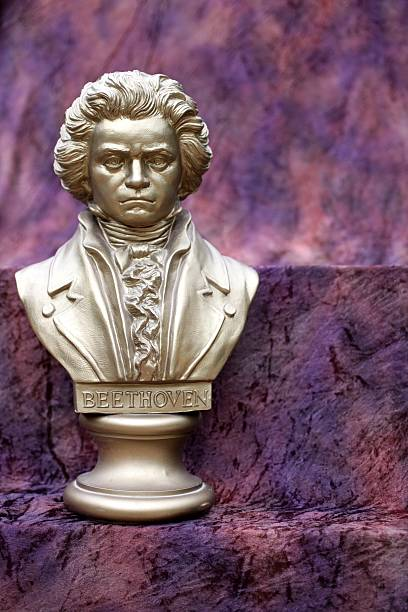 Beethoven Bust stock photo