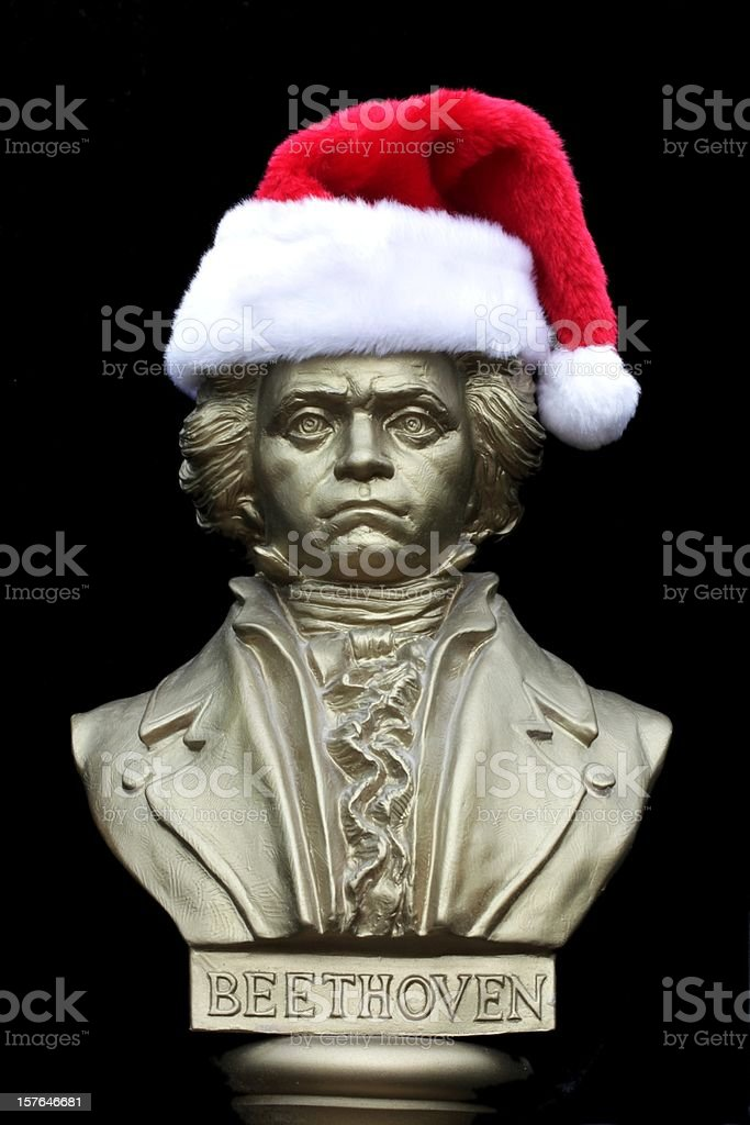 Beethoven Christmas stock photo