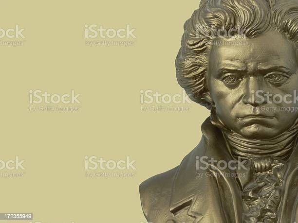 Beethoven Composer Bust Stock Photo - Download Image Now