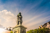 istock Beethoven Monument in Bonn, Germany.It was unveiled on 12 August 1845 1136234003