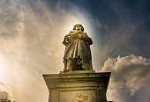istock Beethoven Monument in Bonn, Germany.It was unveiled on 12 August 1845 1136234028