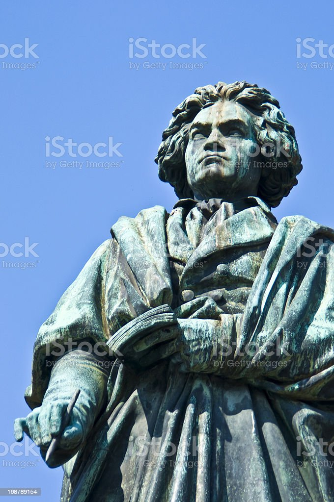 Beethoven stock photo