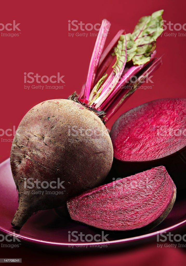 Beetroot detail royalty-free stock photo