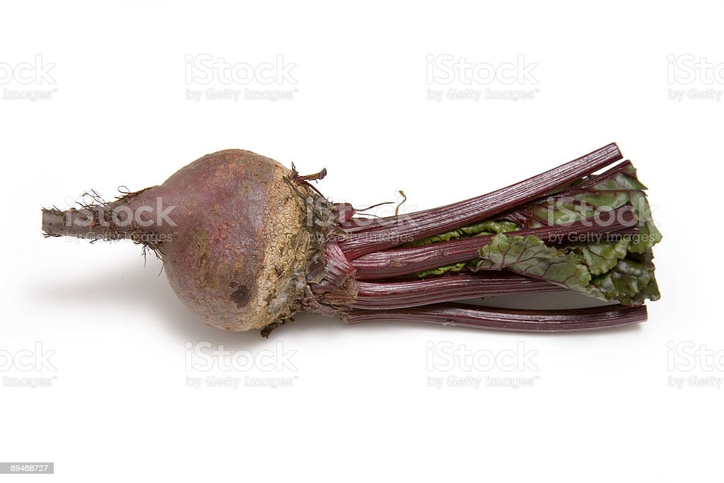 Beet-root isolated on a white studio background. royalty free stockfoto
