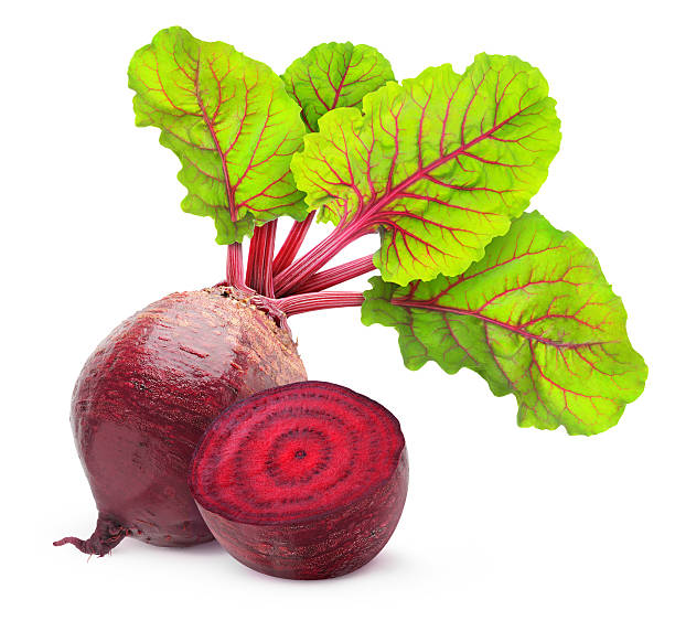 Beetroot Fresh beetroot with leaves isolated on white. beet stock pictures, royalty-free photos & images