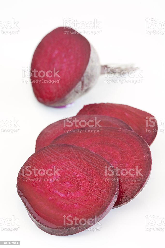 Beetroot Slices royalty-free stock photo
