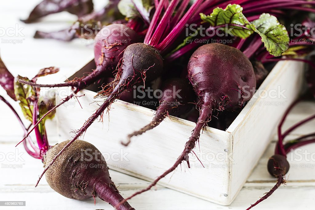 Beetroots stock photo
