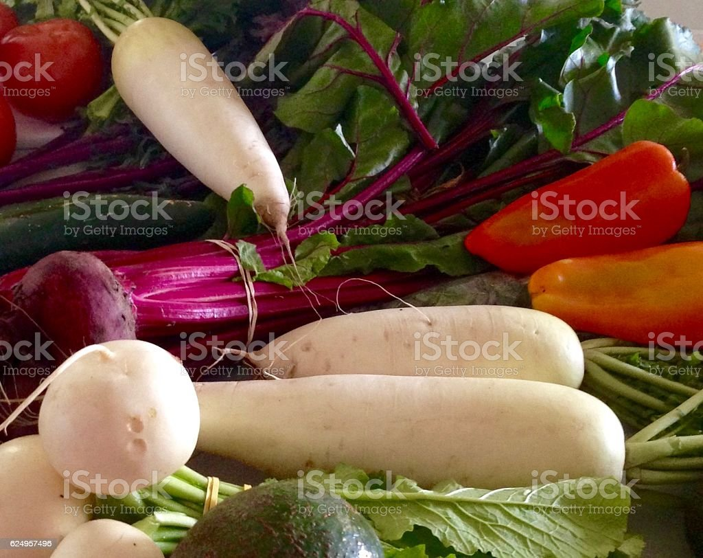 Beets Turnips Peppers And Daikon Radishes Stock Photo Download Image Now Istock