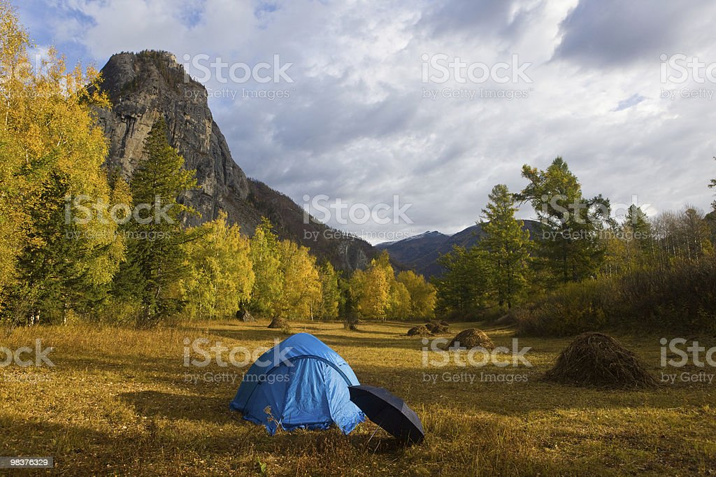Before a rain royalty-free stock photo