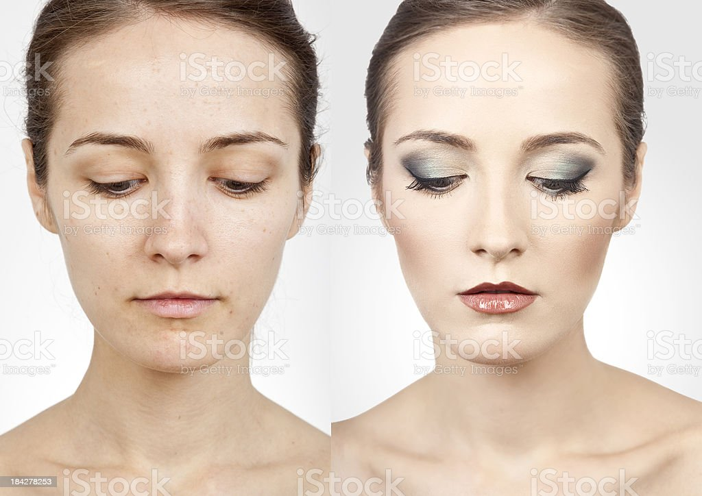 Before After royalty-free stock photo