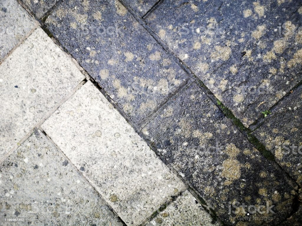 Before And After Jet Washing A Patio With An Effective Result