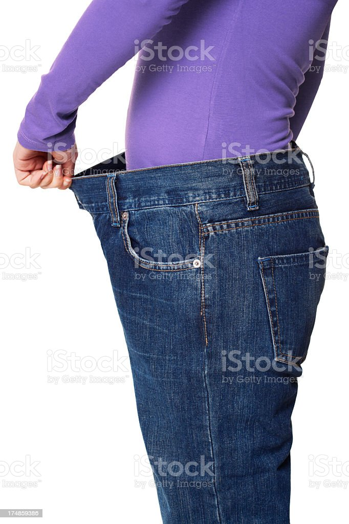 before and after losing weight royalty-free stock photo