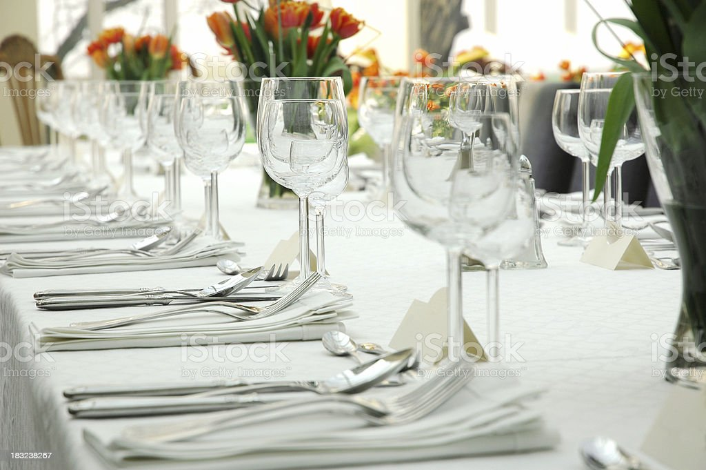 before dinner royalty-free stock photo