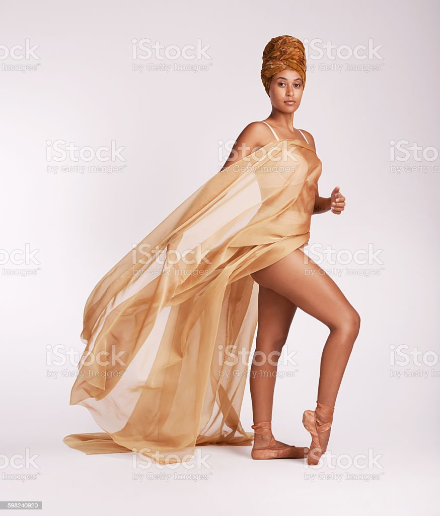 Before everything else, I'm a dancer stock photo