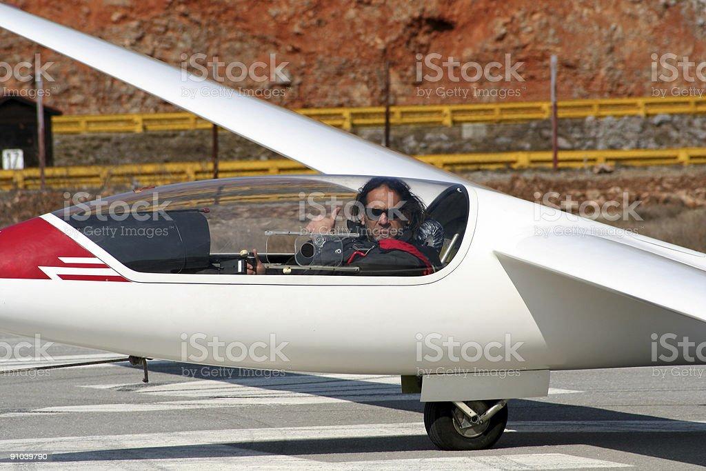 before flight royalty-free stock photo
