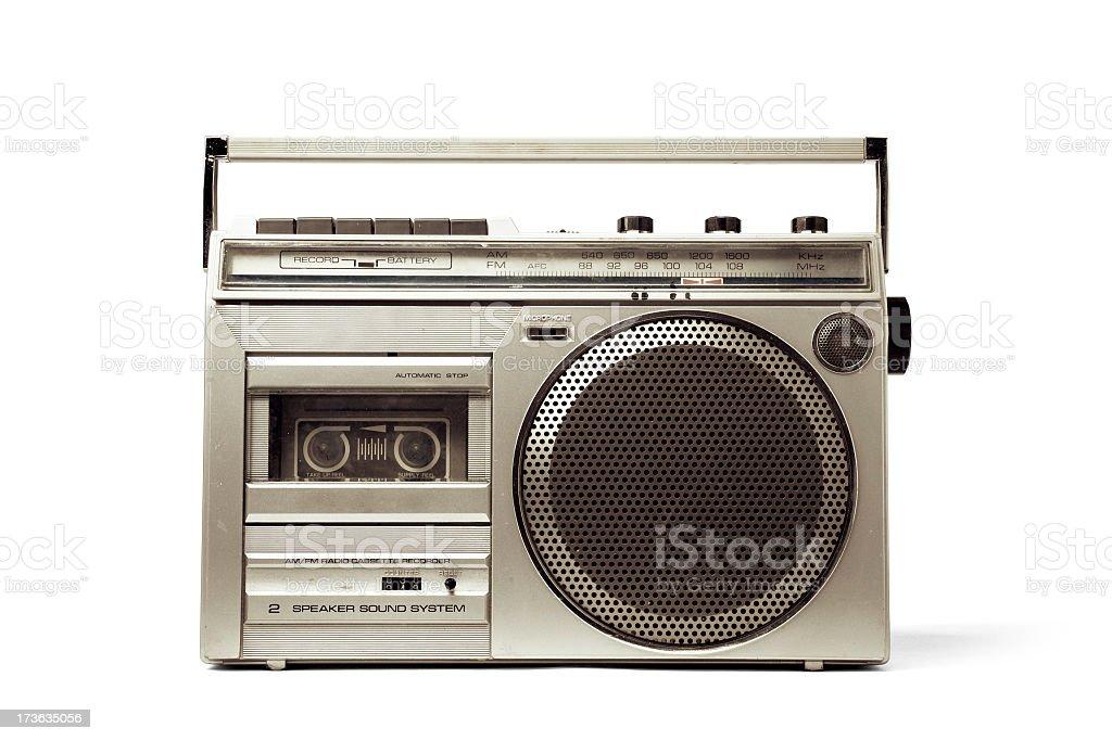 Vor MP3-Player mit PATH - Lizenzfrei 1980-1989 Stock-Foto