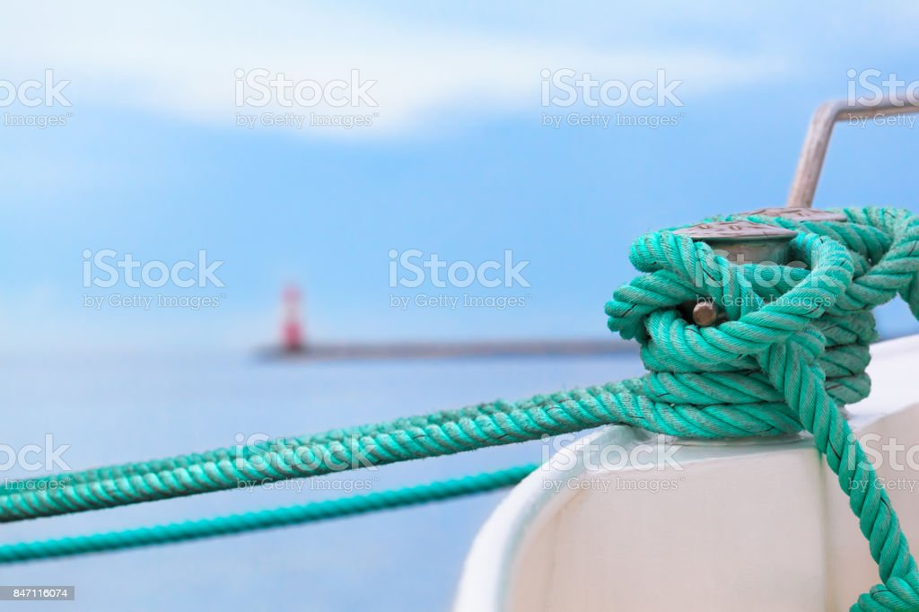 Before put out to Sea Voyage stock photo