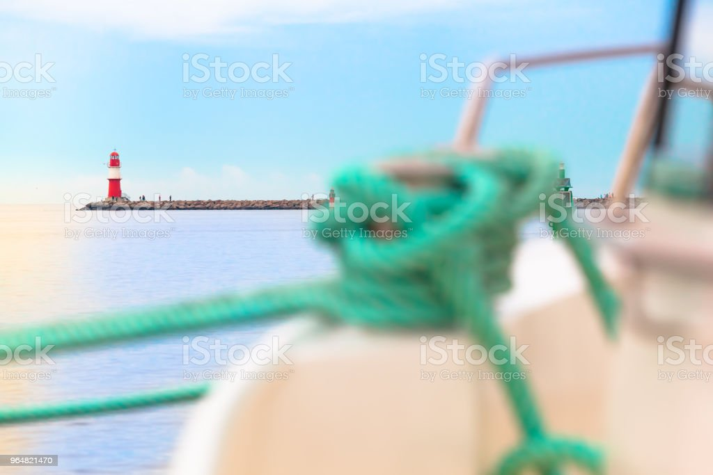Before put out to Sea Voyage royalty-free stock photo