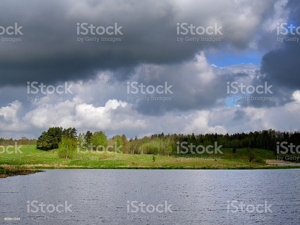 before storm royalty-free stock photo