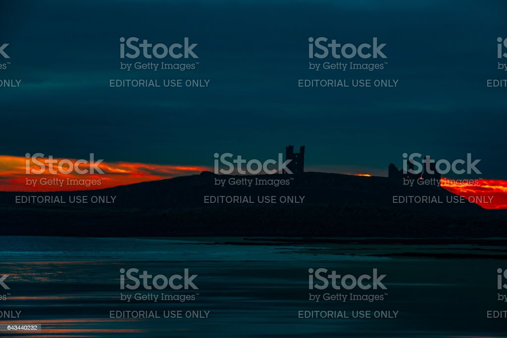 Before sunrise stock photo