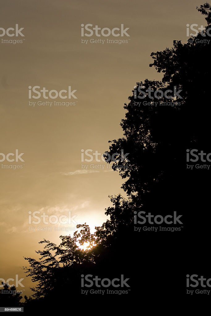 Before Sunset royalty-free stock photo