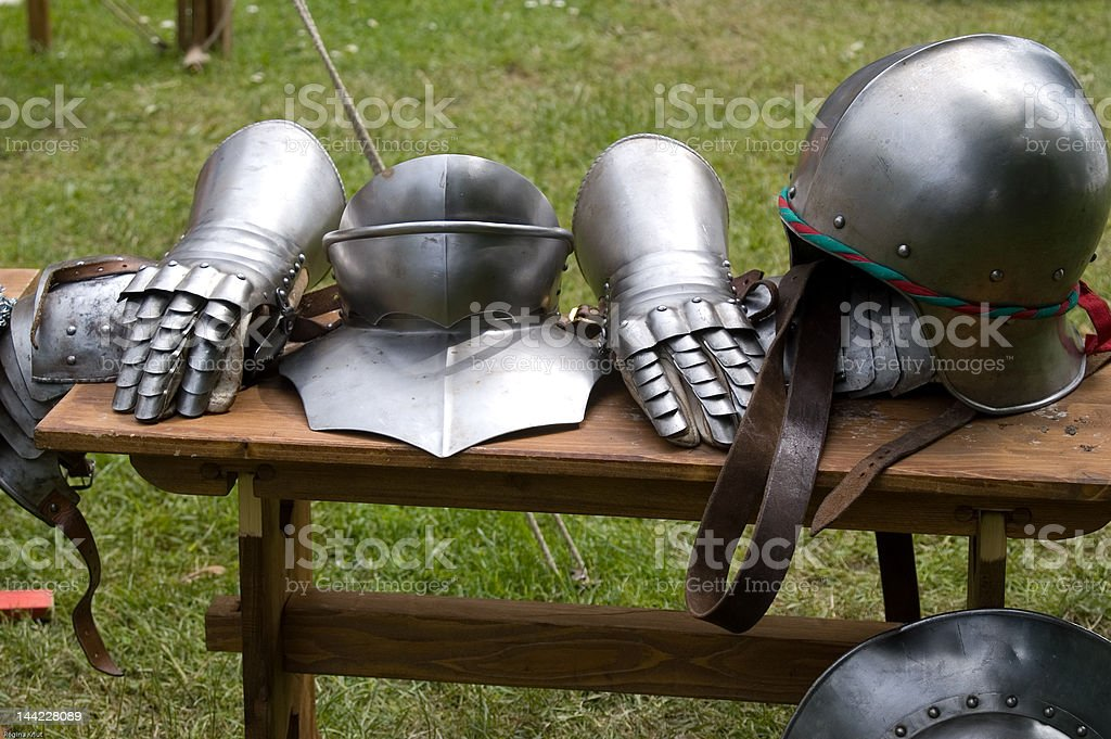 before the battle royalty-free stock photo
