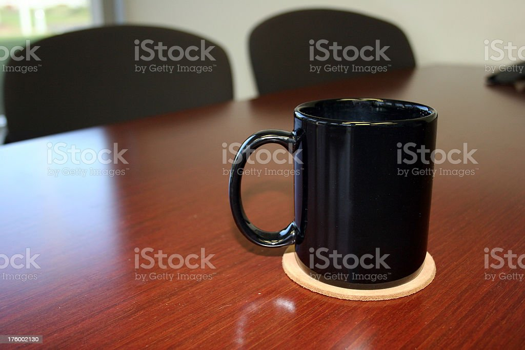 Before the Big Meeting royalty-free stock photo