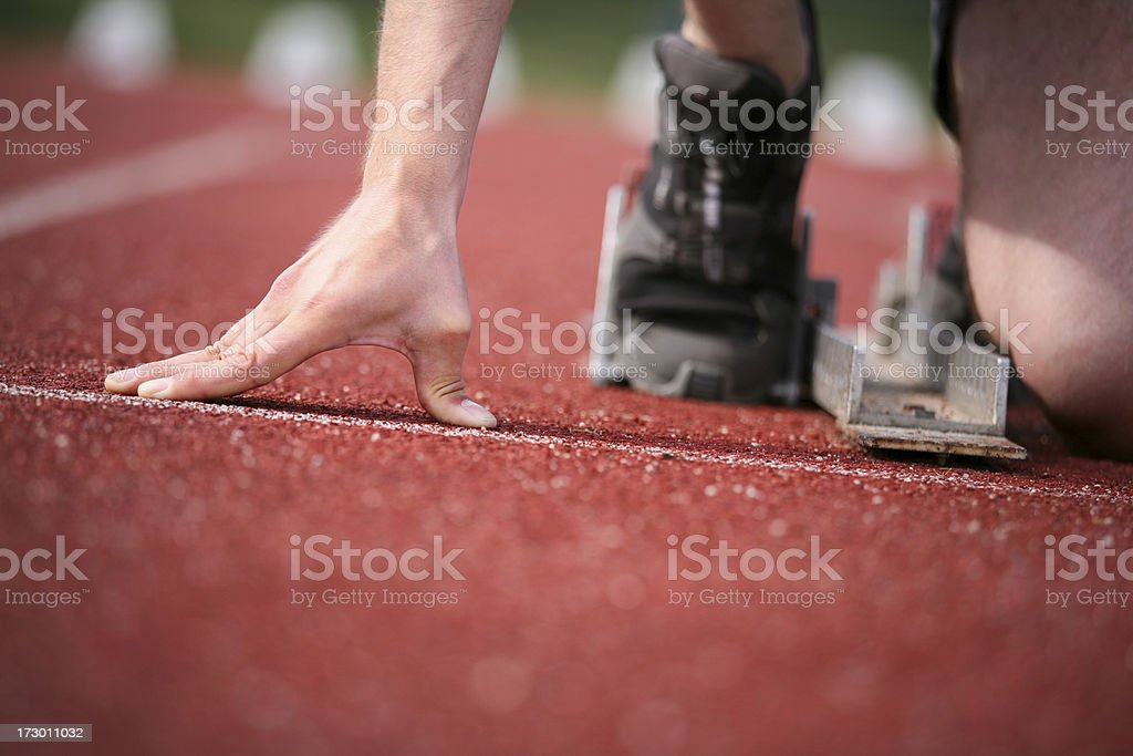 Before the start royalty-free stock photo