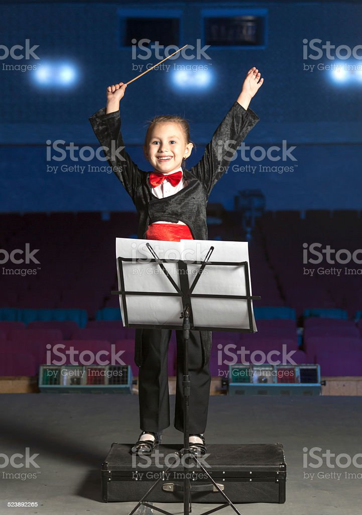 I beg your attention we begin to musical performance stock photo