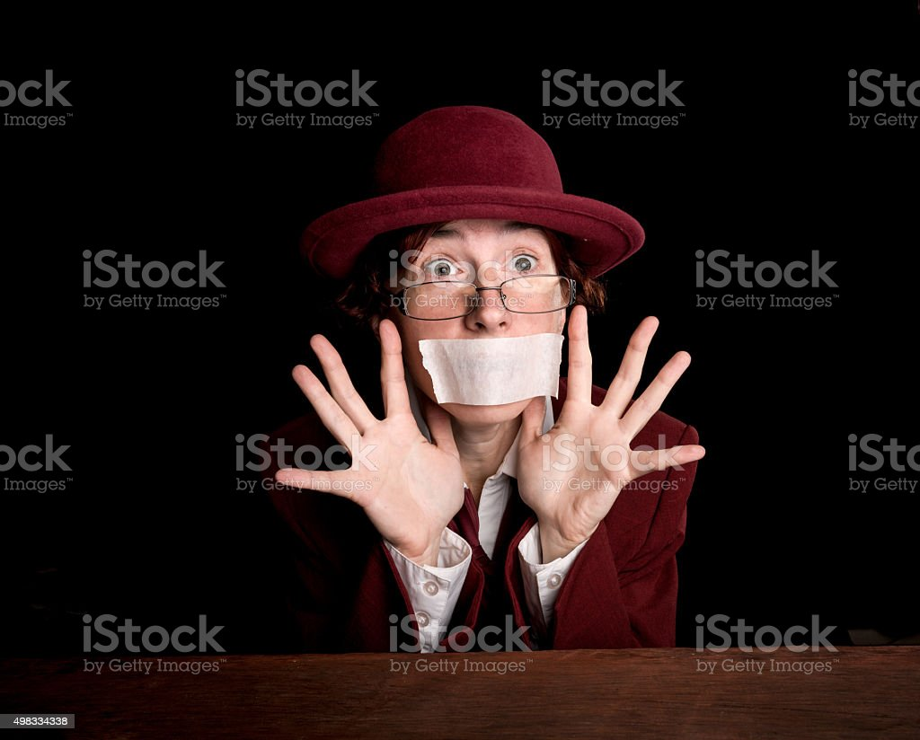 Begging for mercy stock photo
