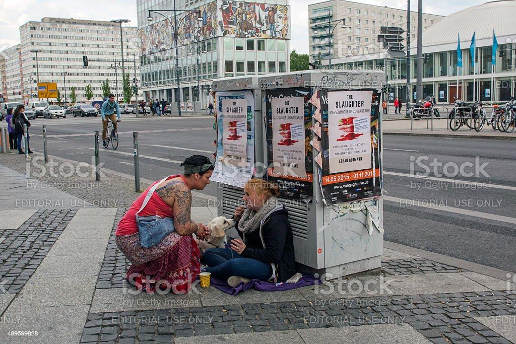 Betteln für Geld – Foto