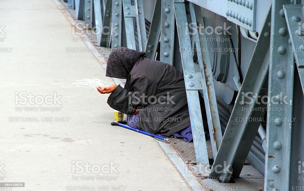 Begging stock photo