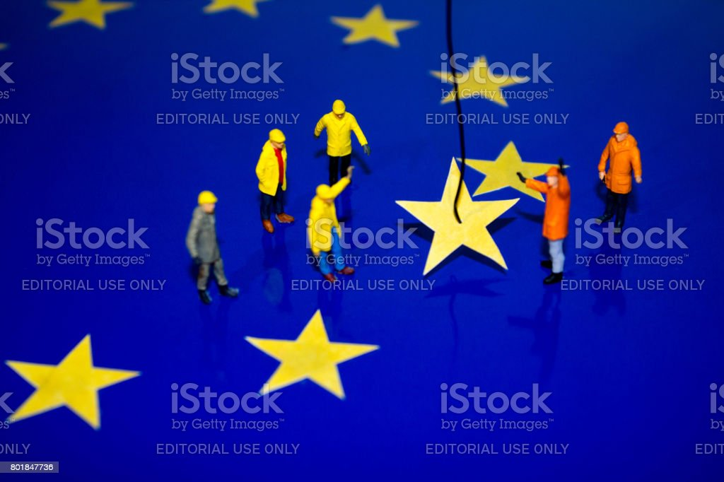 Beggining of Brexit - foto stock