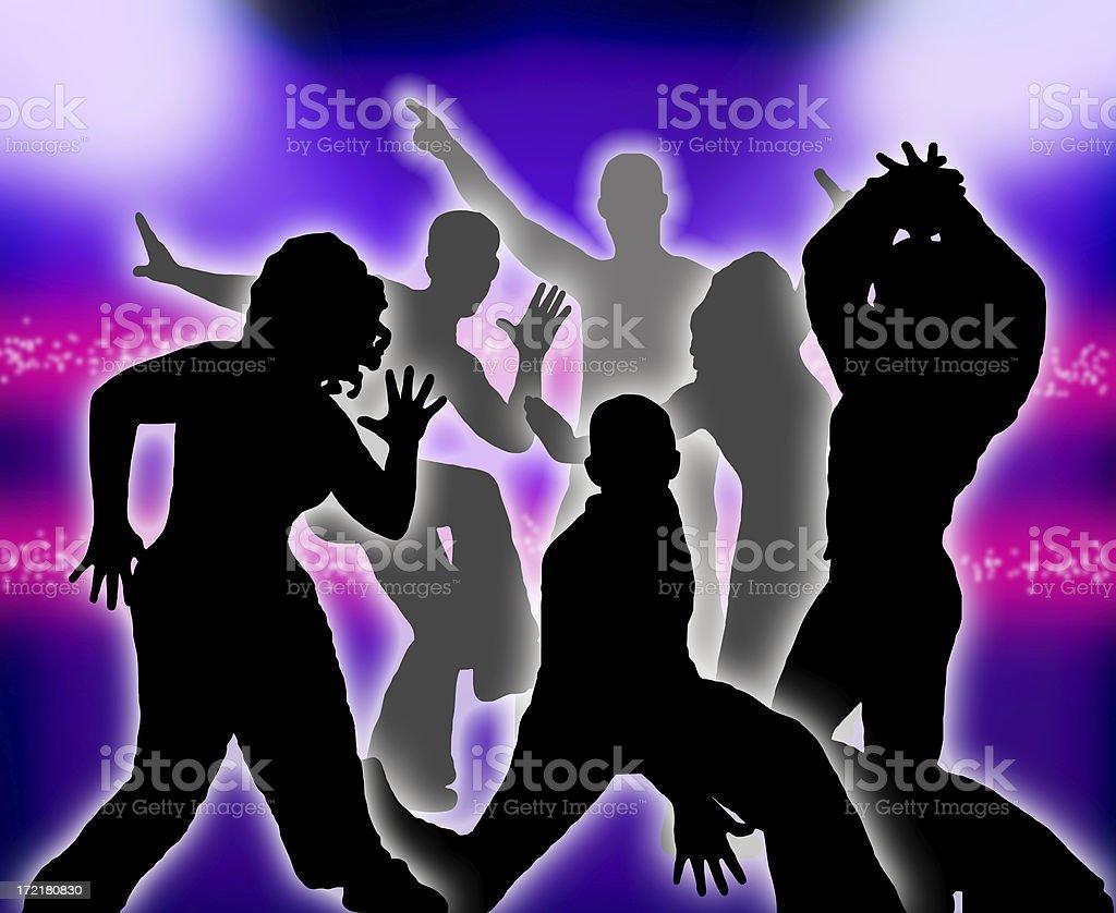begin dancing! royalty-free stock photo