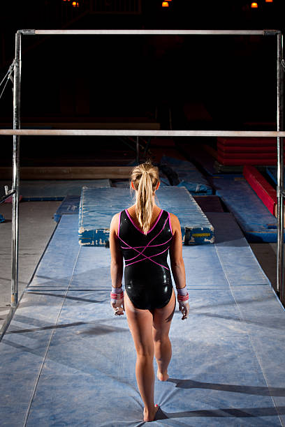 begin - uneven parallel bars stock photos and pictures