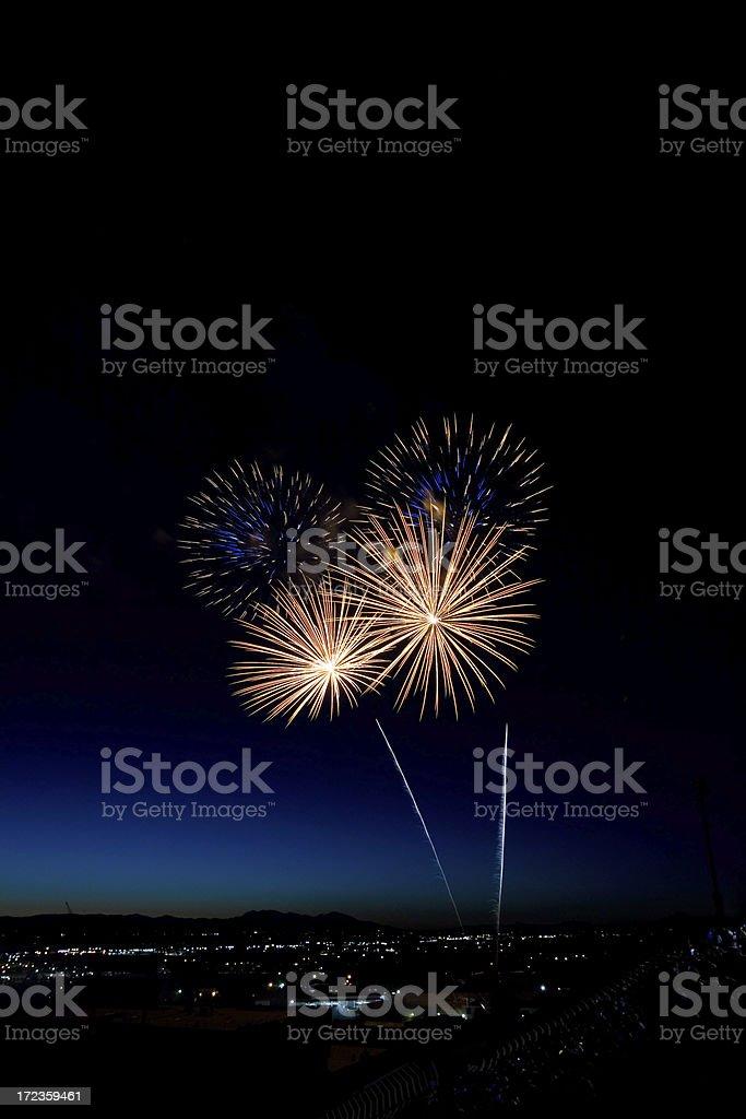 Begin The Celebration royalty-free stock photo