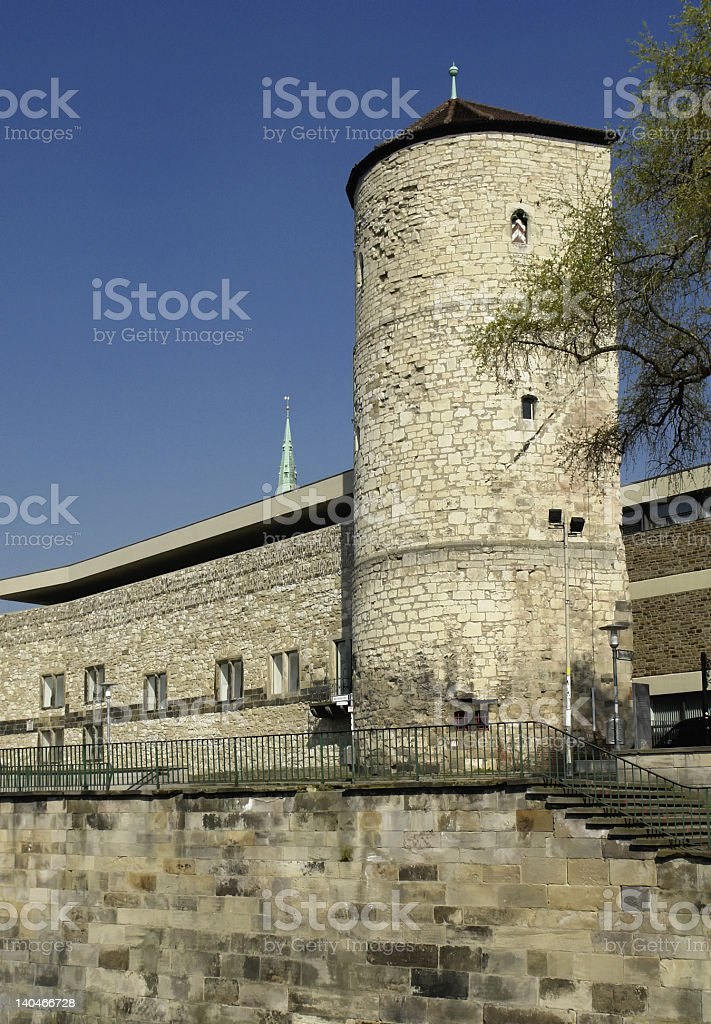 Beginenturm in Hanover, Germany stock photo