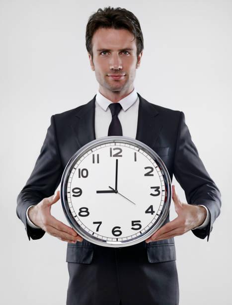 ビジネスの一日の仕事の始まり - 出勤 ストックフォトと画像
