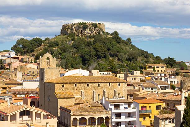 Begur village (Girona, Costa Brava) - foto de stock