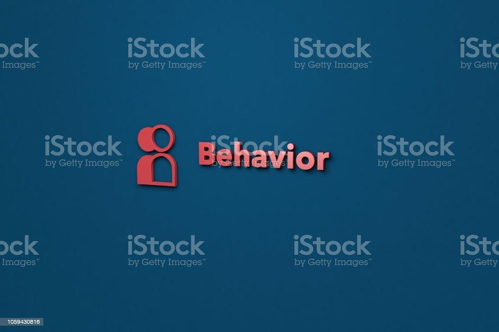 Behavior stock photo