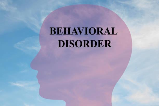 Behavioral  Disorder concept stock photo